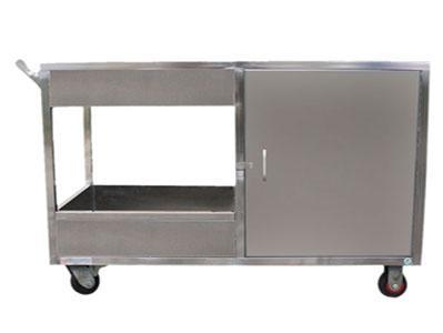 不锈钢收餐车