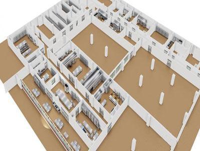 大型酒店厨房设计效果图