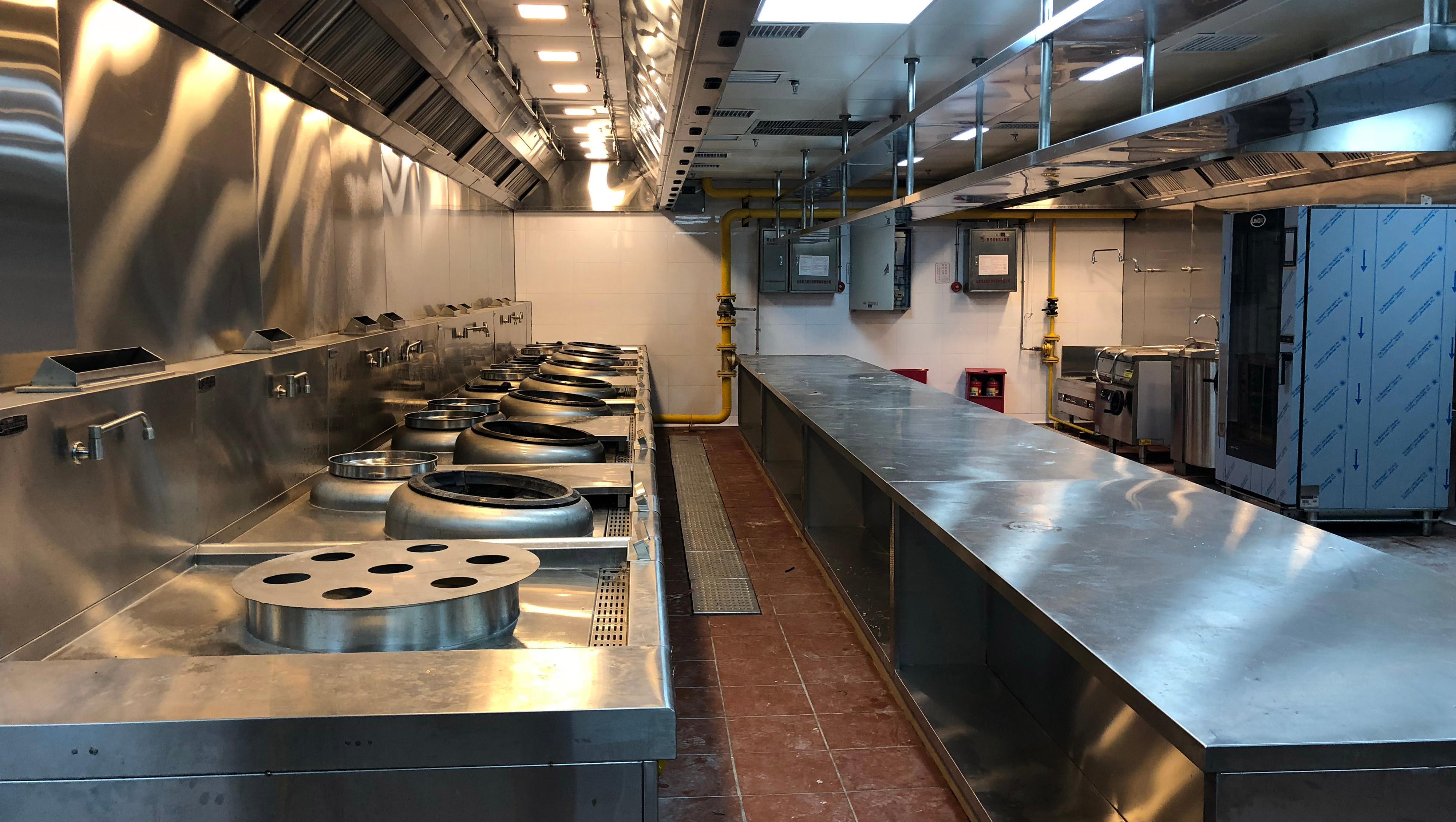 商用厨房设备分类及安装、保养要点——锦华厨具