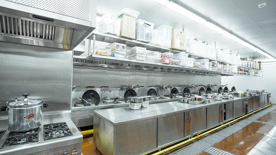 星級酒店廚房工程