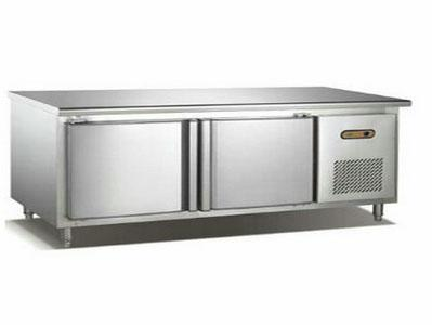 双门单温平面工作台冷藏柜