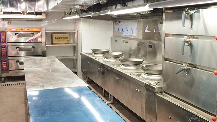 菜馆厨房工程