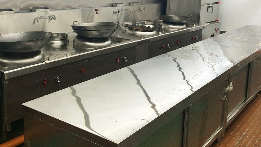 深圳憶秦川連鎖餐飲廚房工程項目案例