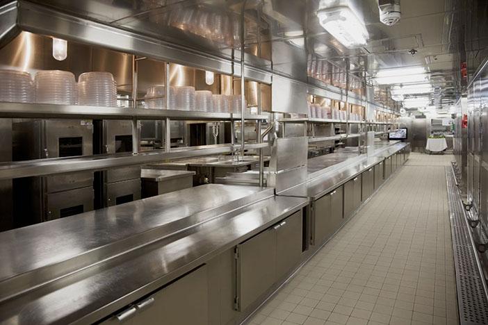 星级酒店厨房