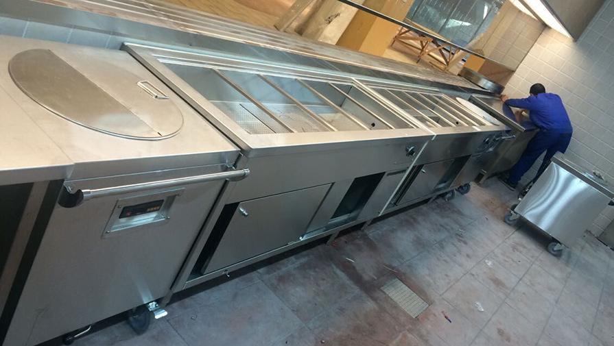 广州中航国旅厨房设备工程案例